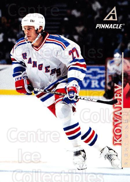 1997-98 Pinnacle #120 Alexei Kovalev<br/>6 In Stock - $1.00 each - <a href=https://centericecollectibles.foxycart.com/cart?name=1997-98%20Pinnacle%20%23120%20Alexei%20Kovalev...&quantity_max=6&price=$1.00&code=63128 class=foxycart> Buy it now! </a>