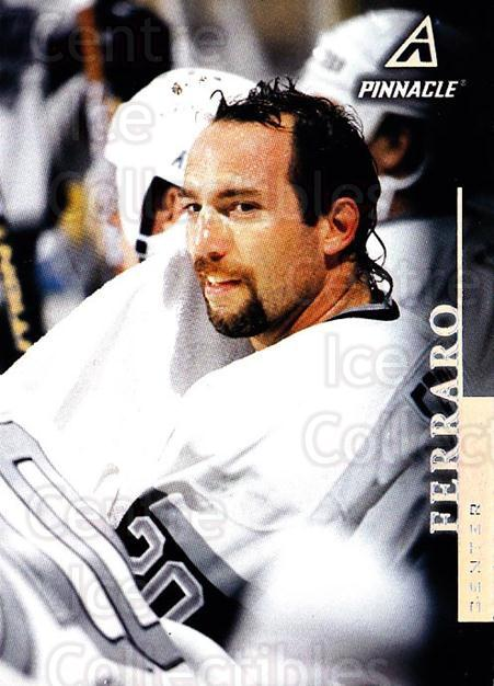 1997-98 Pinnacle #146 Ray Ferraro<br/>5 In Stock - $1.00 each - <a href=https://centericecollectibles.foxycart.com/cart?name=1997-98%20Pinnacle%20%23146%20Ray%20Ferraro...&quantity_max=5&price=$1.00&code=63155 class=foxycart> Buy it now! </a>