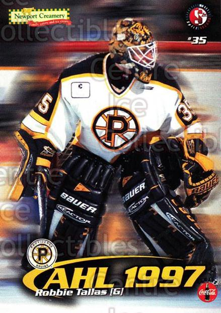 1997-98 Providence Bruins #1 Rob Tallas<br/>6 In Stock - $3.00 each - <a href=https://centericecollectibles.foxycart.com/cart?name=1997-98%20Providence%20Bruins%20%231%20Rob%20Tallas...&price=$3.00&code=63245 class=foxycart> Buy it now! </a>
