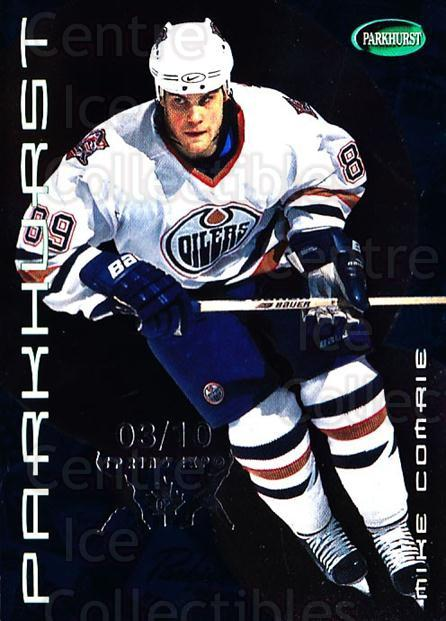 2001-02 Parkhurst Spring Expo #100 Mike Comrie<br/>1 In Stock - $10.00 each - <a href=https://centericecollectibles.foxycart.com/cart?name=2001-02%20Parkhurst%20Spring%20Expo%20%23100%20Mike%20Comrie...&quantity_max=1&price=$10.00&code=633855 class=foxycart> Buy it now! </a>