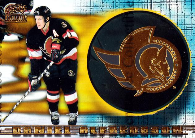 1997-98 Revolution Team Checklist Laser Cuts #17 Daniel Alfredsson<br/>3 In Stock - $3.00 each - <a href=https://centericecollectibles.foxycart.com/cart?name=1997-98%20Revolution%20Team%20Checklist%20Laser%20Cuts%20%2317%20Daniel%20Alfredss...&quantity_max=3&price=$3.00&code=63619 class=foxycart> Buy it now! </a>