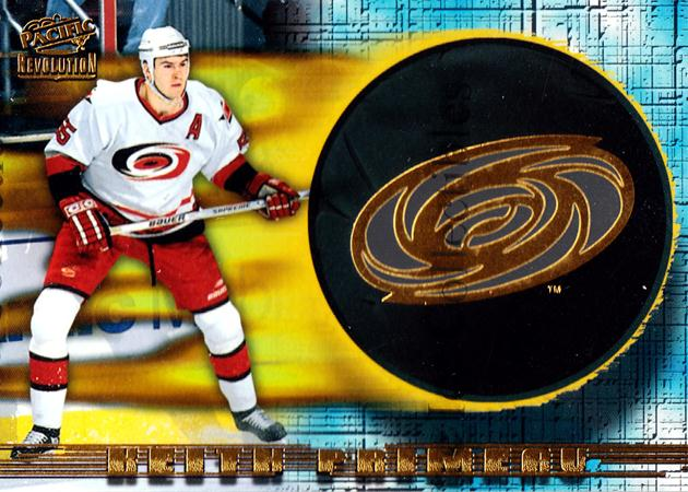 1997-98 Revolution Team Checklist Laser Cuts #5 Keith Primeau<br/>2 In Stock - $3.00 each - <a href=https://centericecollectibles.foxycart.com/cart?name=1997-98%20Revolution%20Team%20Checklist%20Laser%20Cuts%20%235%20Keith%20Primeau...&quantity_max=2&price=$3.00&code=63623 class=foxycart> Buy it now! </a>