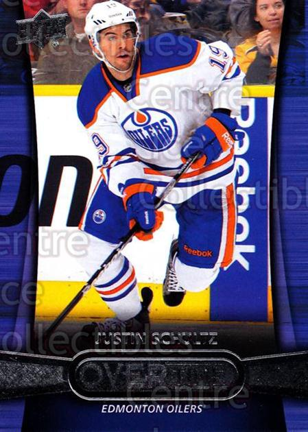 2013-14 Upper Deck Overtime #25 Justin Schultz<br/>7 In Stock - $2.00 each - <a href=https://centericecollectibles.foxycart.com/cart?name=2013-14%20Upper%20Deck%20Overtime%20%2325%20Justin%20Schultz...&quantity_max=7&price=$2.00&code=637007 class=foxycart> Buy it now! </a>