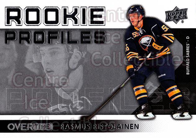 2013-14 Upper Deck Overtime Rookie Profiles #38 Rasmus Ristolainen<br/>1 In Stock - $2.00 each - <a href=https://centericecollectibles.foxycart.com/cart?name=2013-14%20Upper%20Deck%20Overtime%20Rookie%20Profiles%20%2338%20Rasmus%20Ristolai...&quantity_max=1&price=$2.00&code=637112 class=foxycart> Buy it now! </a>