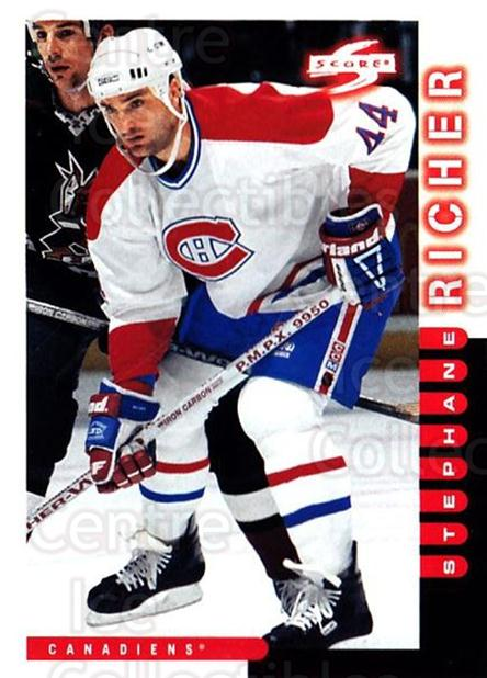 1997-98 Score #213 Stephane Richer<br/>3 In Stock - $1.00 each - <a href=https://centericecollectibles.foxycart.com/cart?name=1997-98%20Score%20%23213%20Stephane%20Richer...&quantity_max=3&price=$1.00&code=63920 class=foxycart> Buy it now! </a>