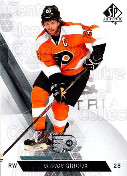 2013-14 Sp Authentic #22 Claude Giroux<br/>7 In Stock - $1.00 each - <a href=https://centericecollectibles.foxycart.com/cart?name=2013-14%20Sp%20Authentic%20%2322%20Claude%20Giroux...&quantity_max=7&price=$1.00&code=639299 class=foxycart> Buy it now! </a>