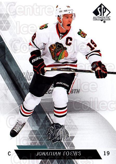 2013-14 Sp Authentic #39 Jonathan Toews<br/>7 In Stock - $2.00 each - <a href=https://centericecollectibles.foxycart.com/cart?name=2013-14%20Sp%20Authentic%20%2339%20Jonathan%20Toews...&quantity_max=7&price=$2.00&code=639316 class=foxycart> Buy it now! </a>