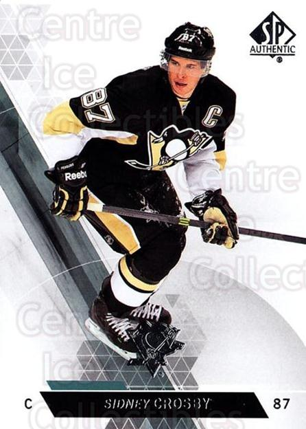 2013-14 Sp Authentic #48 Sidney Crosby<br/>5 In Stock - $3.00 each - <a href=https://centericecollectibles.foxycart.com/cart?name=2013-14%20Sp%20Authentic%20%2348%20Sidney%20Crosby...&quantity_max=5&price=$3.00&code=639325 class=foxycart> Buy it now! </a>