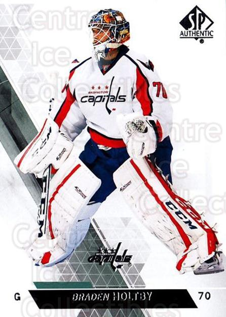 2013-14 Sp Authentic #62 Braden Holtby<br/>7 In Stock - $1.00 each - <a href=https://centericecollectibles.foxycart.com/cart?name=2013-14%20Sp%20Authentic%20%2362%20Braden%20Holtby...&quantity_max=7&price=$1.00&code=639339 class=foxycart> Buy it now! </a>