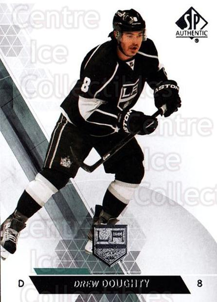 2013-14 Sp Authentic #75 Drew Doughty<br/>8 In Stock - $1.00 each - <a href=https://centericecollectibles.foxycart.com/cart?name=2013-14%20Sp%20Authentic%20%2375%20Drew%20Doughty...&quantity_max=8&price=$1.00&code=639352 class=foxycart> Buy it now! </a>