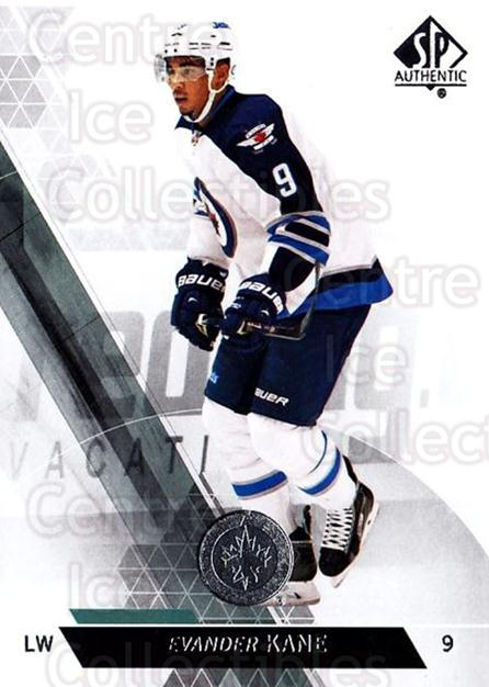 2013-14 Sp Authentic #77 Evander Kane<br/>8 In Stock - $1.00 each - <a href=https://centericecollectibles.foxycart.com/cart?name=2013-14%20Sp%20Authentic%20%2377%20Evander%20Kane...&quantity_max=8&price=$1.00&code=639354 class=foxycart> Buy it now! </a>