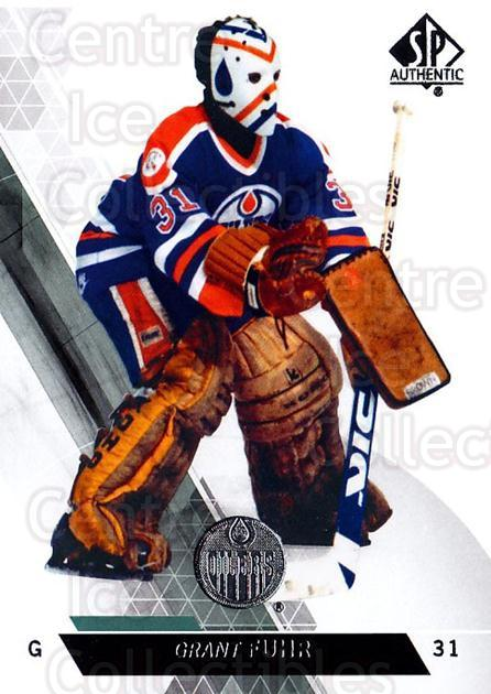 2013-14 Sp Authentic #81 Grant Fuhr<br/>3 In Stock - $2.00 each - <a href=https://centericecollectibles.foxycart.com/cart?name=2013-14%20Sp%20Authentic%20%2381%20Grant%20Fuhr...&quantity_max=3&price=$2.00&code=639358 class=foxycart> Buy it now! </a>