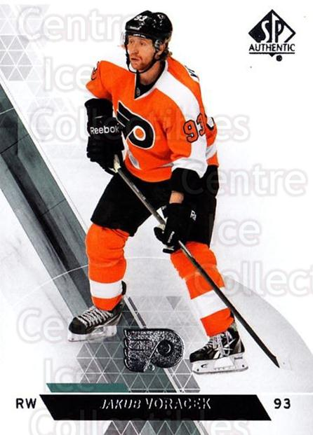 2013-14 Sp Authentic #86 Jakub Voracek<br/>8 In Stock - $1.00 each - <a href=https://centericecollectibles.foxycart.com/cart?name=2013-14%20Sp%20Authentic%20%2386%20Jakub%20Voracek...&quantity_max=8&price=$1.00&code=639363 class=foxycart> Buy it now! </a>