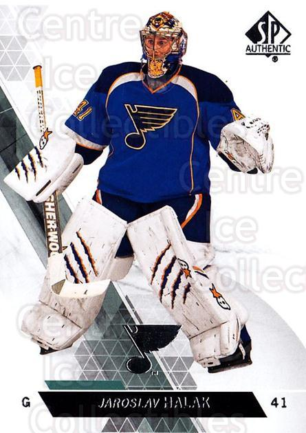 2013-14 Sp Authentic #90 Jaroslav Halak<br/>8 In Stock - $1.00 each - <a href=https://centericecollectibles.foxycart.com/cart?name=2013-14%20Sp%20Authentic%20%2390%20Jaroslav%20Halak...&quantity_max=8&price=$1.00&code=639367 class=foxycart> Buy it now! </a>