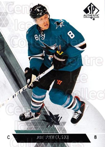 2013-14 Sp Authentic #97 Joe Pavelski<br/>8 In Stock - $1.00 each - <a href=https://centericecollectibles.foxycart.com/cart?name=2013-14%20Sp%20Authentic%20%2397%20Joe%20Pavelski...&quantity_max=8&price=$1.00&code=639374 class=foxycart> Buy it now! </a>