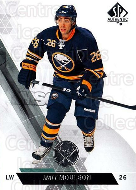 2013-14 Sp Authentic #113 Matt Moulson<br/>8 In Stock - $1.00 each - <a href=https://centericecollectibles.foxycart.com/cart?name=2013-14%20Sp%20Authentic%20%23113%20Matt%20Moulson...&quantity_max=8&price=$1.00&code=639390 class=foxycart> Buy it now! </a>