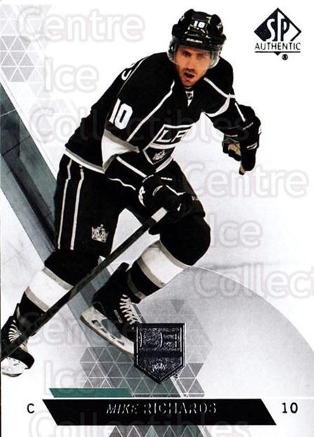 2013-14 Sp Authentic #116 Mike Richards<br/>8 In Stock - $1.00 each - <a href=https://centericecollectibles.foxycart.com/cart?name=2013-14%20Sp%20Authentic%20%23116%20Mike%20Richards...&quantity_max=8&price=$1.00&code=639393 class=foxycart> Buy it now! </a>
