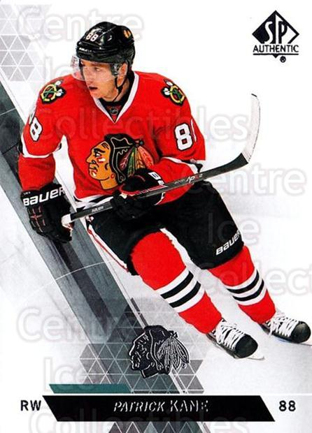 2013-14 Sp Authentic #125 Patrick Kane<br/>9 In Stock - $2.00 each - <a href=https://centericecollectibles.foxycart.com/cart?name=2013-14%20Sp%20Authentic%20%23125%20Patrick%20Kane...&quantity_max=9&price=$2.00&code=639402 class=foxycart> Buy it now! </a>