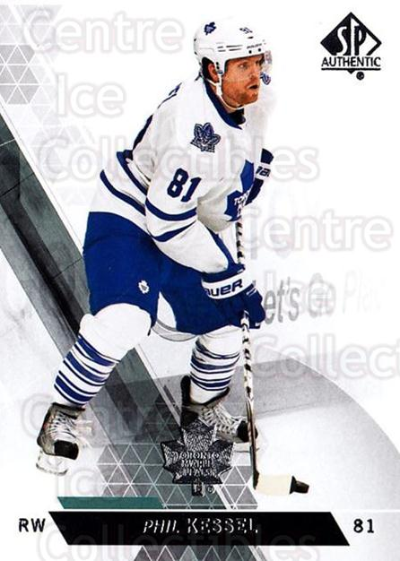 2013-14 Sp Authentic #131 Phil Kessel<br/>9 In Stock - $1.00 each - <a href=https://centericecollectibles.foxycart.com/cart?name=2013-14%20Sp%20Authentic%20%23131%20Phil%20Kessel...&quantity_max=9&price=$1.00&code=639408 class=foxycart> Buy it now! </a>