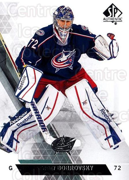 2013-14 Sp Authentic #139 Sergei Bobrovsky<br/>5 In Stock - $1.00 each - <a href=https://centericecollectibles.foxycart.com/cart?name=2013-14%20Sp%20Authentic%20%23139%20Sergei%20Bobrovsk...&quantity_max=5&price=$1.00&code=639416 class=foxycart> Buy it now! </a>