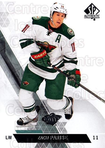 2013-14 Sp Authentic #149 Zach Parise<br/>9 In Stock - $1.00 each - <a href=https://centericecollectibles.foxycart.com/cart?name=2013-14%20Sp%20Authentic%20%23149%20Zach%20Parise...&quantity_max=9&price=$1.00&code=639426 class=foxycart> Buy it now! </a>