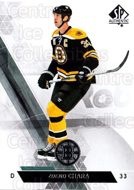 2013-14 Sp Authentic #150 Zdeno Chara<br/>8 In Stock - $1.00 each - <a href=https://centericecollectibles.foxycart.com/cart?name=2013-14%20Sp%20Authentic%20%23150%20Zdeno%20Chara...&quantity_max=8&price=$1.00&code=639427 class=foxycart> Buy it now! </a>