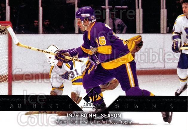 2013-14 Sp Authentic #176 Marcel Dionne<br/>5 In Stock - $2.00 each - <a href=https://centericecollectibles.foxycart.com/cart?name=2013-14%20Sp%20Authentic%20%23176%20Marcel%20Dionne...&quantity_max=5&price=$2.00&code=639453 class=foxycart> Buy it now! </a>