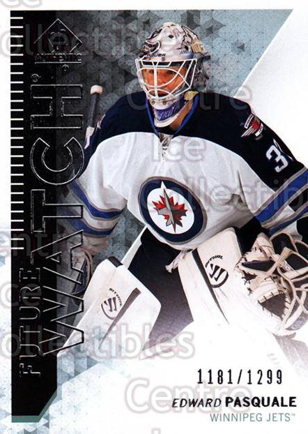 2013-14 Sp Authentic #201 Edward Pasquale<br/>2 In Stock - $5.00 each - <a href=https://centericecollectibles.foxycart.com/cart?name=2013-14%20Sp%20Authentic%20%23201%20Edward%20Pasquale...&quantity_max=2&price=$5.00&code=639478 class=foxycart> Buy it now! </a>
