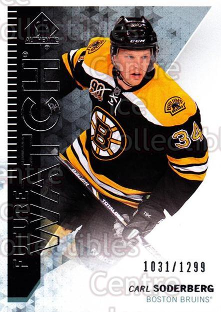 2013-14 Sp Authentic #214 Carl Soderberg<br/>2 In Stock - $5.00 each - <a href=https://centericecollectibles.foxycart.com/cart?name=2013-14%20Sp%20Authentic%20%23214%20Carl%20Soderberg...&quantity_max=2&price=$5.00&code=639491 class=foxycart> Buy it now! </a>