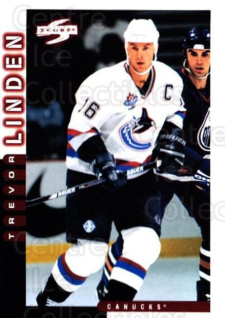 1997-98 Score #144 Trevor Linden<br/>5 In Stock - $1.00 each - <a href=https://centericecollectibles.foxycart.com/cart?name=1997-98%20Score%20%23144%20Trevor%20Linden...&quantity_max=5&price=$1.00&code=63952 class=foxycart> Buy it now! </a>