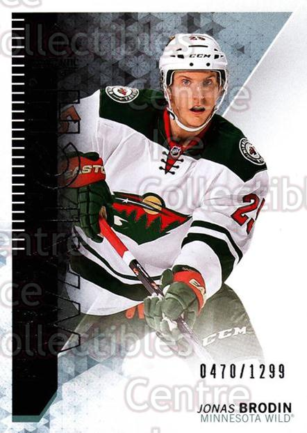 2013-14 Sp Authentic #254 Jonas Brodin<br/>3 In Stock - $5.00 each - <a href=https://centericecollectibles.foxycart.com/cart?name=2013-14%20Sp%20Authentic%20%23254%20Jonas%20Brodin...&quantity_max=3&price=$5.00&code=639531 class=foxycart> Buy it now! </a>