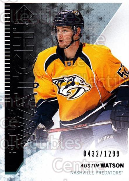 2013-14 Sp Authentic #256 Austin Watson<br/>2 In Stock - $5.00 each - <a href=https://centericecollectibles.foxycart.com/cart?name=2013-14%20Sp%20Authentic%20%23256%20Austin%20Watson...&quantity_max=2&price=$5.00&code=639533 class=foxycart> Buy it now! </a>