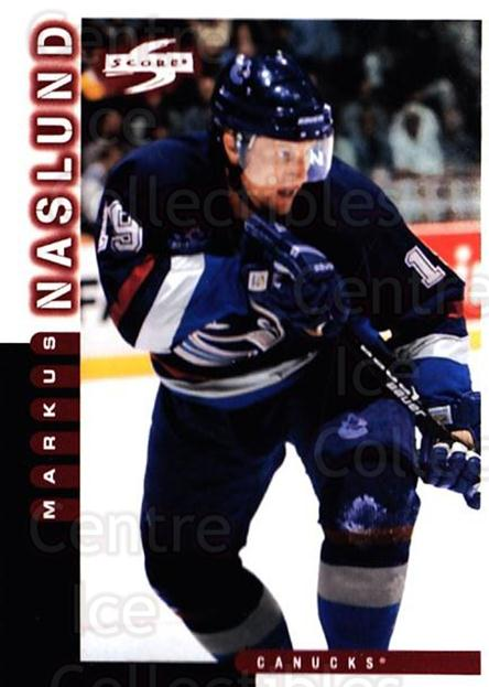 1997-98 Score #150 Markus Naslund<br/>4 In Stock - $1.00 each - <a href=https://centericecollectibles.foxycart.com/cart?name=1997-98%20Score%20%23150%20Markus%20Naslund...&quantity_max=4&price=$1.00&code=63953 class=foxycart> Buy it now! </a>