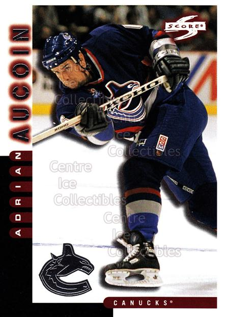1997-98 Score Vancouver Canucks #14 Adrian Aucoin<br/>12 In Stock - $2.00 each - <a href=https://centericecollectibles.foxycart.com/cart?name=1997-98%20Score%20Vancouver%20Canucks%20%2314%20Adrian%20Aucoin...&quantity_max=12&price=$2.00&code=63964 class=foxycart> Buy it now! </a>