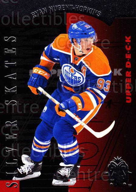 2013-14 SP Authentic SP Retro Silver Skates #7 Ryan Nugent-Hopkins<br/>4 In Stock - $2.00 each - <a href=https://centericecollectibles.foxycart.com/cart?name=2013-14%20SP%20Authentic%20SP%20Retro%20Silver%20Skates%20%237%20Ryan%20Nugent-Hop...&price=$2.00&code=639677 class=foxycart> Buy it now! </a>