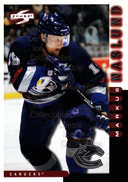 1997-98 Score Vancouver Canucks #7 Markus Naslund<br/>8 In Stock - $2.00 each - <a href=https://centericecollectibles.foxycart.com/cart?name=1997-98%20Score%20Vancouver%20Canucks%20%237%20Markus%20Naslund...&quantity_max=8&price=$2.00&code=63976 class=foxycart> Buy it now! </a>