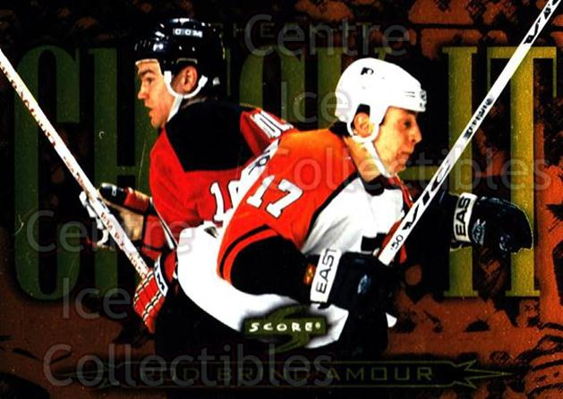 1997-98 Score Check It #16 Rod Brind'Amour<br/>9 In Stock - $3.00 each - <a href=https://centericecollectibles.foxycart.com/cart?name=1997-98%20Score%20Check%20It%20%2316%20Rod%20Brind'Amour...&quantity_max=9&price=$3.00&code=63989 class=foxycart> Buy it now! </a>