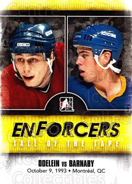 2011-12 ITG Enforcers #50 Lyle Odelein, Matthew Barnaby<br/>3 In Stock - $2.00 each - <a href=https://centericecollectibles.foxycart.com/cart?name=2011-12%20ITG%20Enforcers%20%2350%20Lyle%20Odelein,%20M...&quantity_max=3&price=$2.00&code=639931 class=foxycart> Buy it now! </a>