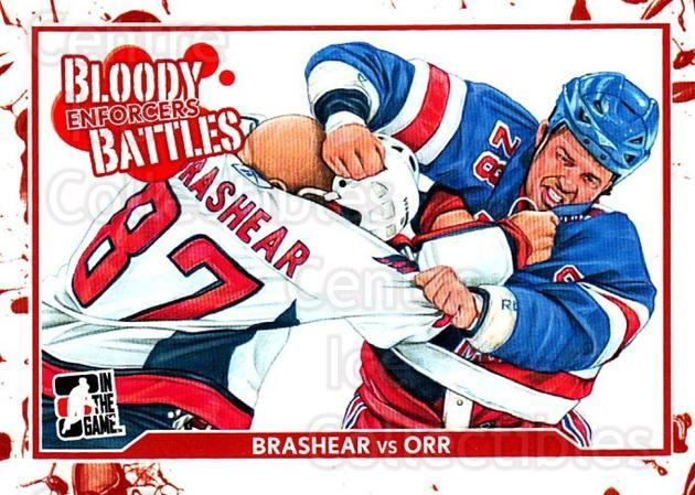 2011-12 ITG Enforcers #60 Donald Brashear, Colton Orr<br/>1 In Stock - $2.00 each - <a href=https://centericecollectibles.foxycart.com/cart?name=2011-12%20ITG%20Enforcers%20%2360%20Donald%20Brashear...&quantity_max=1&price=$2.00&code=639941 class=foxycart> Buy it now! </a>