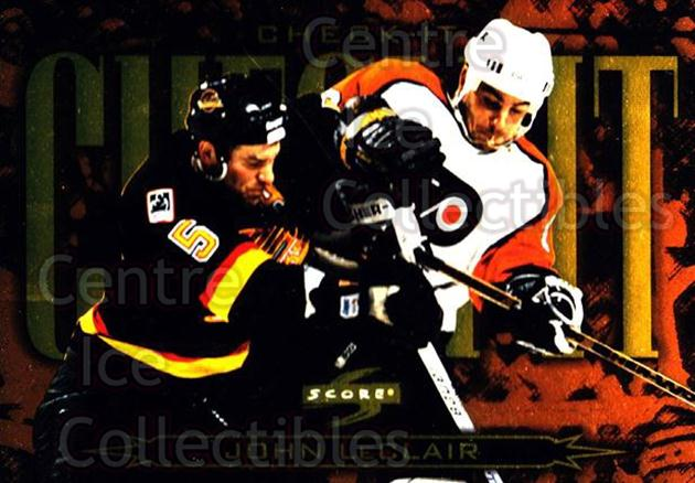 1997-98 Score Check It #5 John LeClair<br/>5 In Stock - $3.00 each - <a href=https://centericecollectibles.foxycart.com/cart?name=1997-98%20Score%20Check%20It%20%235%20John%20LeClair...&quantity_max=5&price=$3.00&code=63994 class=foxycart> Buy it now! </a>
