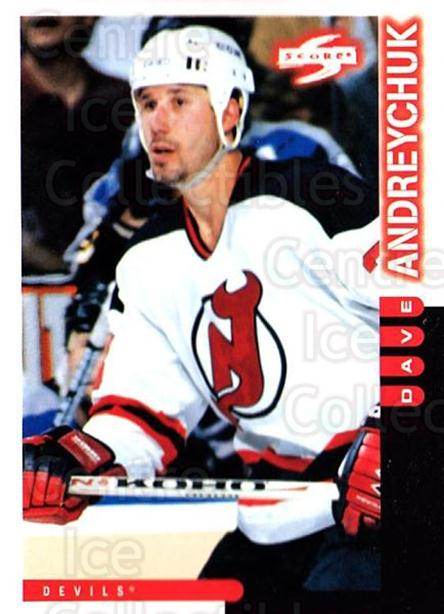 1997-98 Score #115 Dave Andreychuk<br/>2 In Stock - $1.00 each - <a href=https://centericecollectibles.foxycart.com/cart?name=1997-98%20Score%20%23115%20Dave%20Andreychuk...&quantity_max=2&price=$1.00&code=64003 class=foxycart> Buy it now! </a>