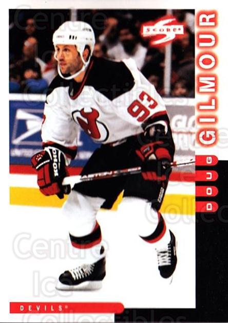 1997-98 Score #93 Doug Gilmour<br/>1 In Stock - $1.00 each - <a href=https://centericecollectibles.foxycart.com/cart?name=1997-98%20Score%20%2393%20Doug%20Gilmour...&quantity_max=1&price=$1.00&code=64014 class=foxycart> Buy it now! </a>