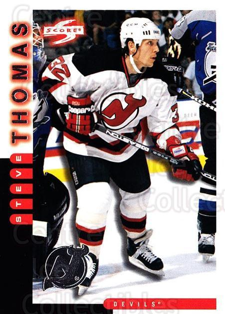1997-98 Score New Jersey Devils #10 Steve Thomas<br/>3 In Stock - $2.00 each - <a href=https://centericecollectibles.foxycart.com/cart?name=1997-98%20Score%20New%20Jersey%20Devils%20%2310%20Steve%20Thomas...&quantity_max=3&price=$2.00&code=64016 class=foxycart> Buy it now! </a>