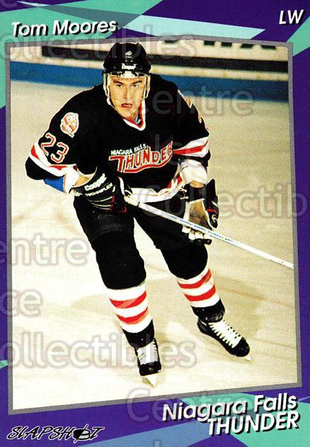 1993-94 Niagara Falls Thunder #17 Tom Moores<br/>1 In Stock - $3.00 each - <a href=https://centericecollectibles.foxycart.com/cart?name=1993-94%20Niagara%20Falls%20Thunder%20%2317%20Tom%20Moores...&quantity_max=1&price=$3.00&code=6401 class=foxycart> Buy it now! </a>