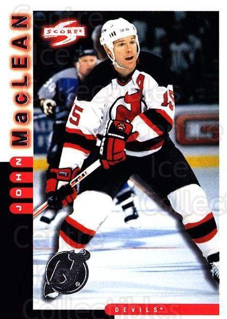 1997-98 Score New Jersey Devils #4 John MacLean<br/>7 In Stock - $2.00 each - <a href=https://centericecollectibles.foxycart.com/cart?name=1997-98%20Score%20New%20Jersey%20Devils%20%234%20John%20MacLean...&quantity_max=7&price=$2.00&code=64025 class=foxycart> Buy it now! </a>