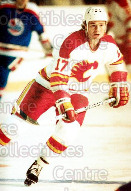 1983-84 Calgary Flames Postcards #9 Jamie Hislop<br/>1 In Stock - $5.00 each - <a href=https://centericecollectibles.foxycart.com/cart?name=1983-84%20Calgary%20Flames%20Postcards%20%239%20Jamie%20Hislop...&price=$5.00&code=640358 class=foxycart> Buy it now! </a>