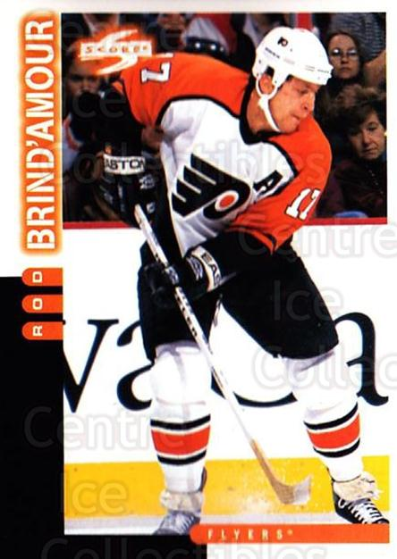1997-98 Score #127 Rod Brind'Amour<br/>4 In Stock - $1.00 each - <a href=https://centericecollectibles.foxycart.com/cart?name=1997-98%20Score%20%23127%20Rod%20Brind'Amour...&quantity_max=4&price=$1.00&code=64035 class=foxycart> Buy it now! </a>