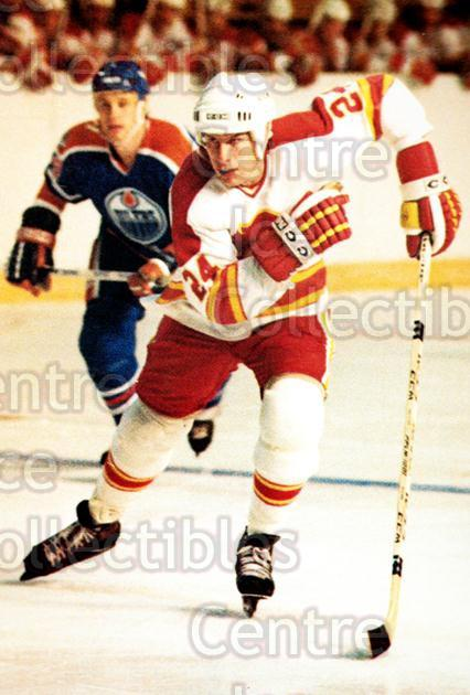 1983-84 Calgary Flames Postcards #22 Jim Peplinski<br/>1 In Stock - $5.00 each - <a href=https://centericecollectibles.foxycart.com/cart?name=1983-84%20Calgary%20Flames%20Postcards%20%2322%20Jim%20Peplinski...&quantity_max=1&price=$5.00&code=640371 class=foxycart> Buy it now! </a>