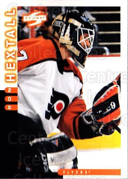 1997-98 Score #27 Ron Hextall<br/>3 In Stock - $1.00 each - <a href=https://centericecollectibles.foxycart.com/cart?name=1997-98%20Score%20%2327%20Ron%20Hextall...&quantity_max=3&price=$1.00&code=64044 class=foxycart> Buy it now! </a>