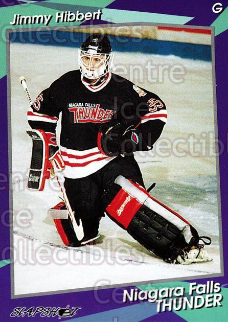 1993-94 Niagara Falls Thunder #2 Jimmy Hibbert<br/>1 In Stock - $3.00 each - <a href=https://centericecollectibles.foxycart.com/cart?name=1993-94%20Niagara%20Falls%20Thunder%20%232%20Jimmy%20Hibbert...&quantity_max=1&price=$3.00&code=6404 class=foxycart> Buy it now! </a>